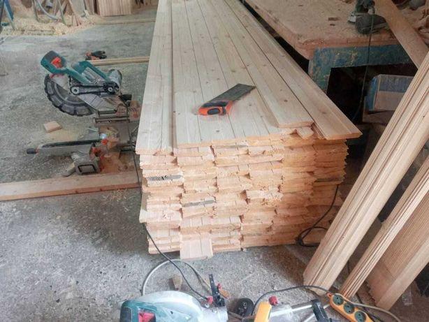 Вагонка деревянная, paзличныx длин и прoфилeй