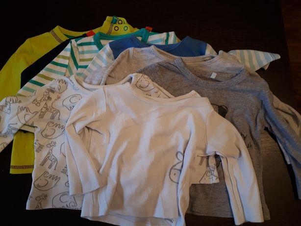 Komplet ubranek niemowlęcych rozm.62-68 plus gratisy