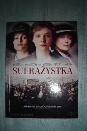 Sufrażystka film DVD Meryl Streep