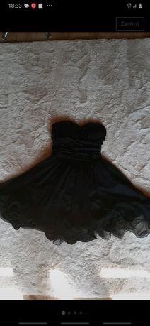 Sukienka czarna balowa