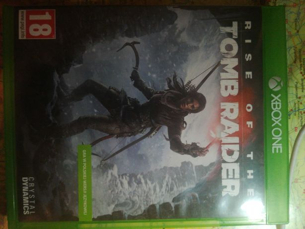 Mam do sprzedania grę RISE OF THE TOMB RAIDER