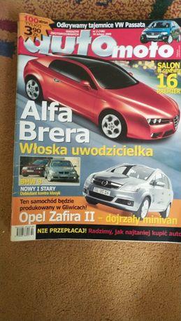 Czasopismo Auto Moto 2005/3,5,8,9; 2006/7,8