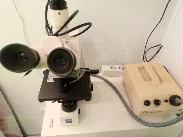 Microscópio de campo escuro zeiss