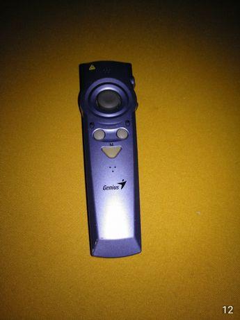 Ponteiro wireless para apresentações PowerPoint.