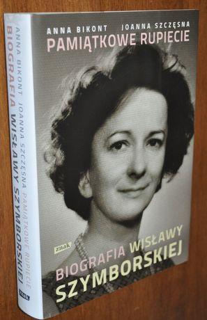 Pamiątkowe rupiecie - Biografia Wisławy Szymborskiej - Anna Bikont KRK