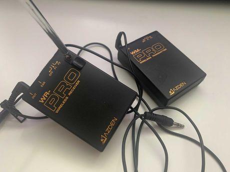Микрофон Azden VHF (WLX-PRO) - БЕЗ ПРЕДОПЛАТ, петличка, радиосистема