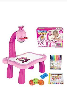 Дитячий стіл проектор для малювання з підсвічуванням Стол проектор г,р