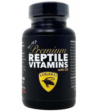 Витамины для рептилий Lugarti premium reptile vitamins