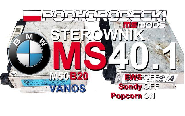 Sterownik MS40.1 BMW E36 E34 M50B20 Vanos PopCorn 7000 Szybsza Sondy