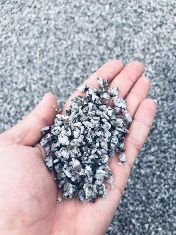 Grys Granitowy 2-8 mm DALMATYŃCZYK do Płyt Ażurowych Ażurów Granit