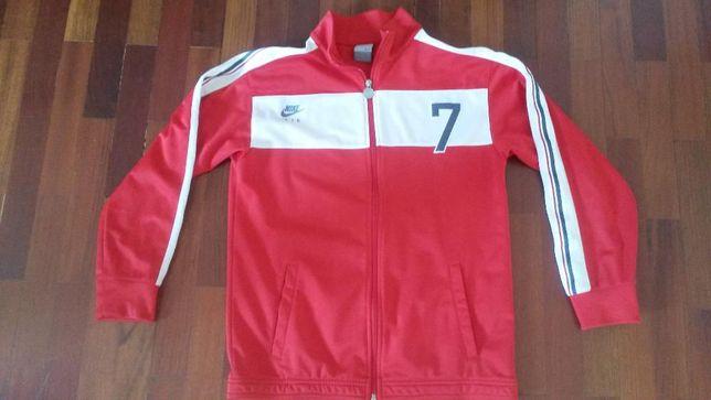 NIKE- AIR- Vermelho- casaco DESPORTIVO