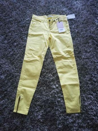 Spodnie damskie  cygaretki NAF NAF rozm. 34