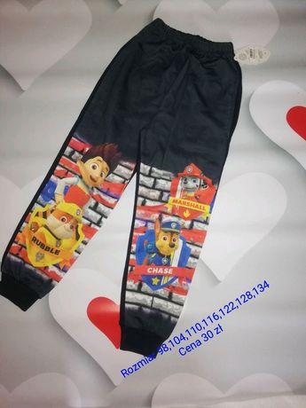 NOWE spodnie dresowe chłopięce