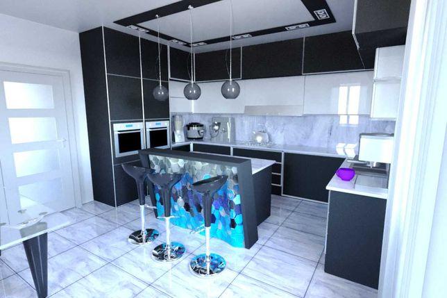 Дизайн Кухни, Мебели.Дизайнер Интерьера,Квартир,Дома,Офиса.Проект