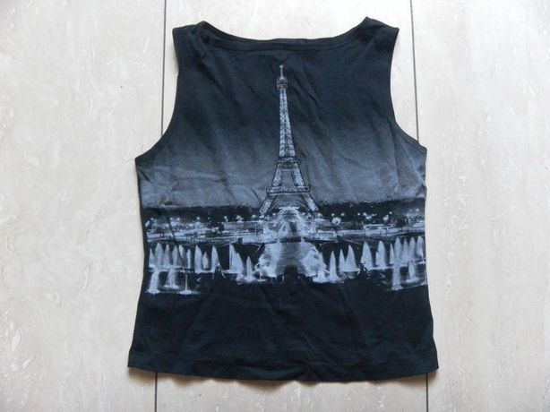 Top bluzka Eiffel Tower 34,XS Paris Paryż
