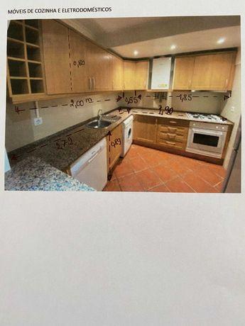 Cozinha completa, bancada em granito