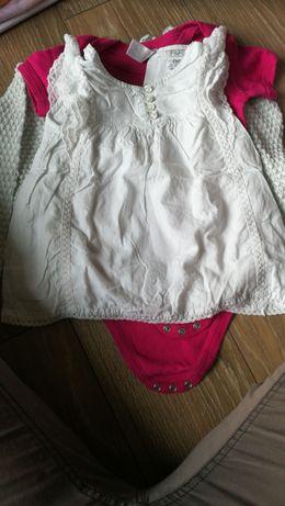 Bluzeczka dziewczęca F&F r. 80