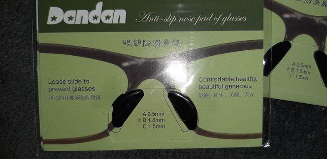 Silikonowe naklejki noski do okularów 1.8 mm Nowe
