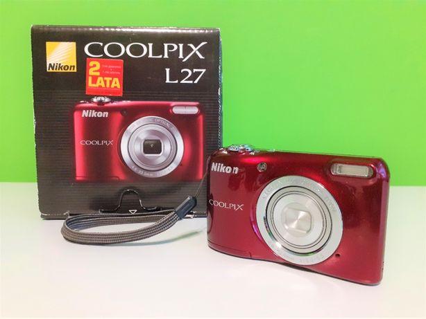 Aparat cyfrowy Nikon Coolpix L27 czerwony