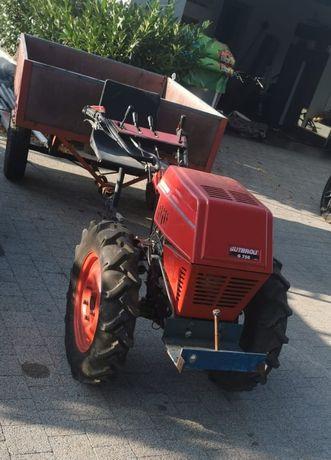 Traktorek ogrodowy jednoosiowy