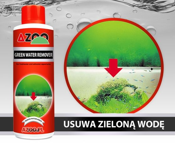 Azoo Green Water Remover 120ml.