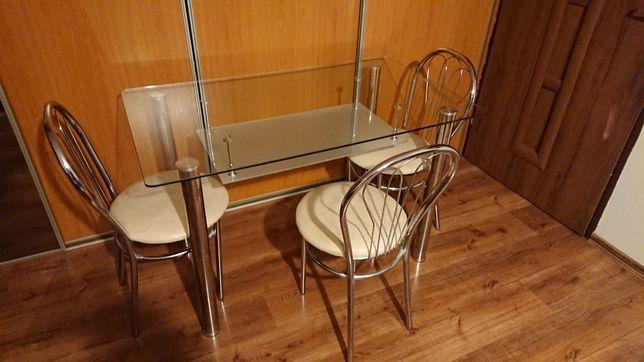 Stół kuchenny + 3 krzesła