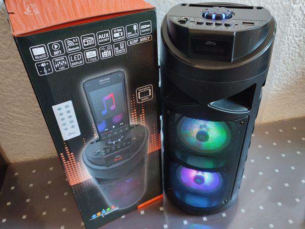 Gwarancja 24m 30W RMS 40cm głośnik bluetooth karaoke radio odtwarzacz