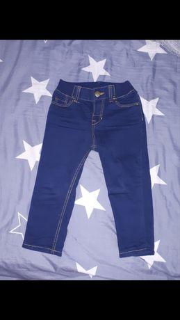 jeansy H&M 86 skinny slim spodnie dżinsy