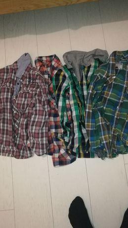 5 koszul dla chłopca roz 128