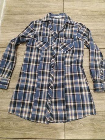 Koszulo-sukienka damska 36