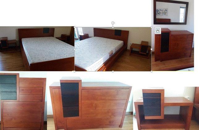 Mobília Quarto Casal Moderna NOVA Grande Dimensão 2.00X1.80 conj/indiv