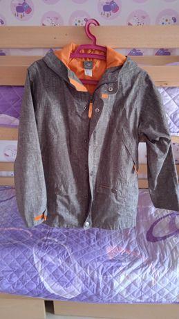 Куртка демісезонна мембранна Quechua підліткова на зріст 153-162см