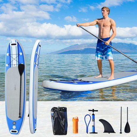 NOVAS Prancha de Surf Inflável com Remo Ajustável e Bomba