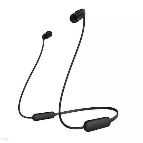 Douszne słuchawki bezprzewodowe  Sony WI-C200 Czarny