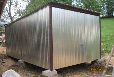 Hala mobilna blaszak 3x5 w ocynku garaż - transport - montaż
