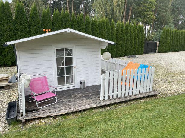 Domek drewniany ogrodowy dla dzieci do zabawy