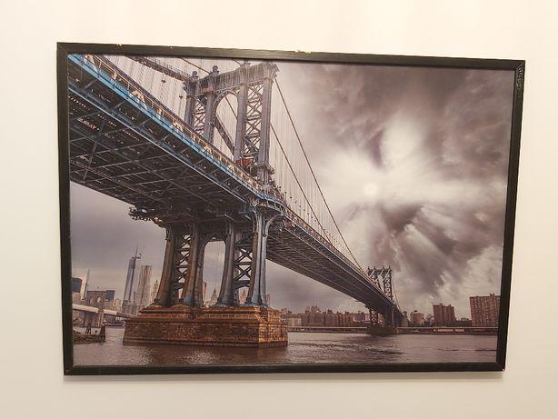 obraz , plakat , fotografia w drewnianej ramie 103,5cm x 73,5cm