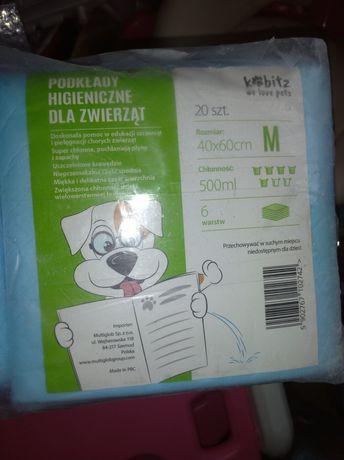 Podkłady higieniczne dla zwierząt psa M