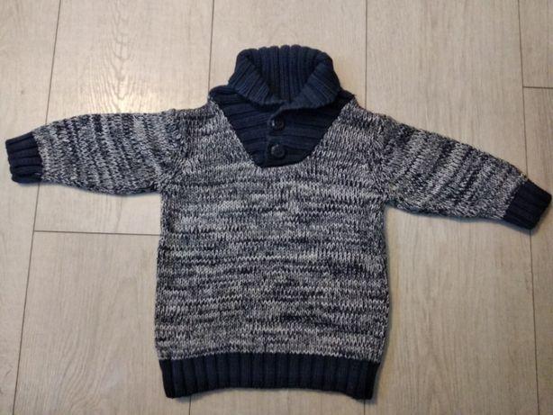 Ciepły sweterek r.74