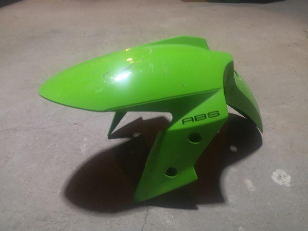 Błotnik przód przedni kawasaki ninja 300 zx z zielony