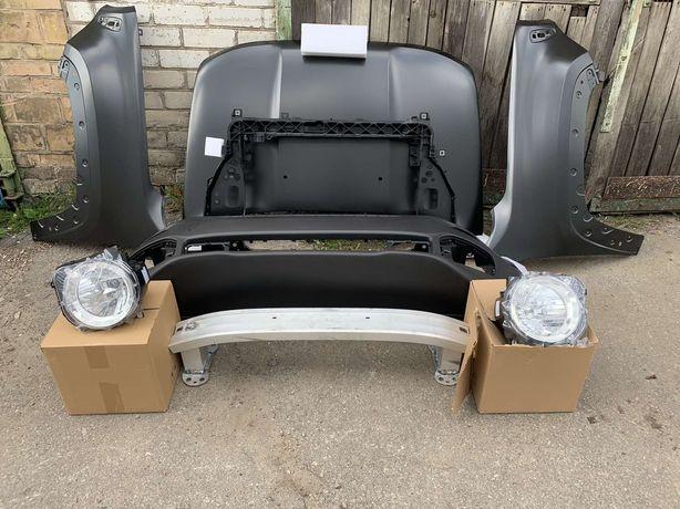 Капот крыло бампер фары панель Jeep Renegade 2014-2020