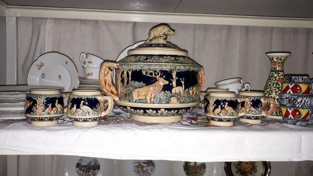 Оригинальный немецкий керамический сервиз