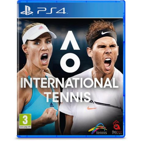 AO International Tennis para PS4 - Em excelente estado