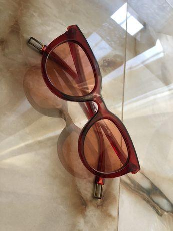 Красные очки + чехол