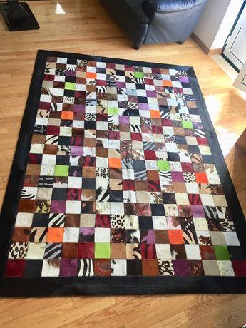 Carpetes pele de alta qualidade. 2,40 x 1,70