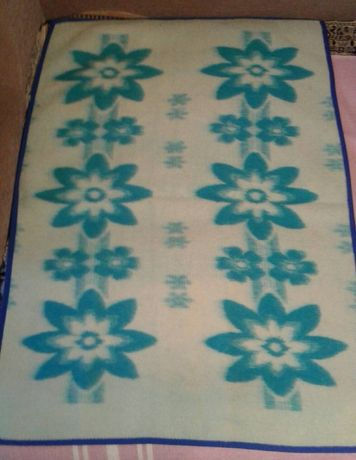 Новое шерстяное детское одеяло