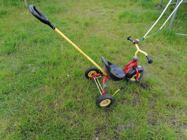Rowerek dziecka trójkołowy mini 2 3 mały 12 24 rower prowadzenia pałąk