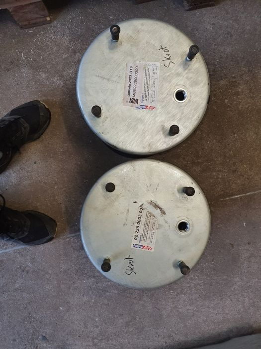Resor pneumatyczny  poduszka mech oryginalny SAF, DAF, IVECO Kargowa - image 1