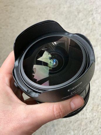 Объектив canon fisheye zoom lens ef 8-15mm