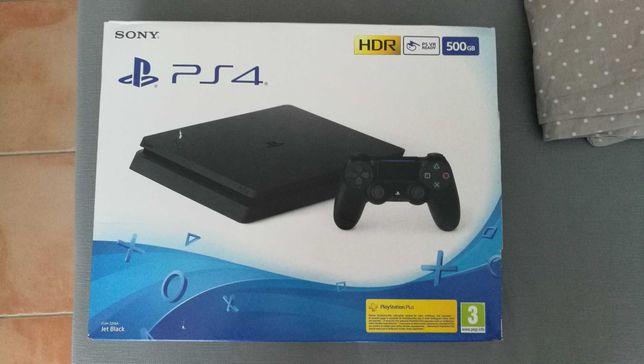 PS4 Slim 500Gb Nova com garantia